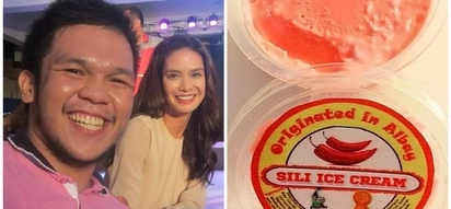 Sili pala ang gusto! Netizen claims he effortlessly had his photo taken with Erich Gonzales after offering her free sili ice cream