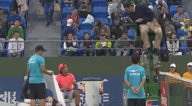 Este tenista desató la ira de todos los presentes
