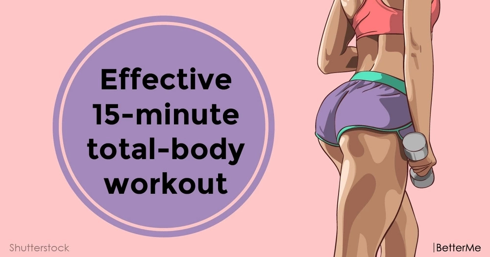 Effective 15-minute total-body workout