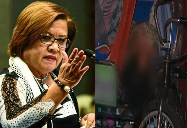 Senator Leila De Lima may probe pedicab driver's death