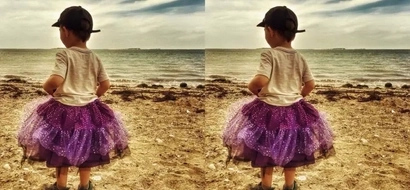 Mother gets criticized for letting her 3-year-old son wear skirts