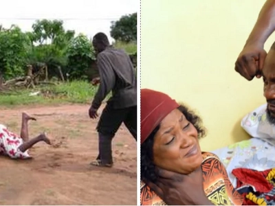 Meet Kiambu man who was battered by wife and abandoned with 4 kids, youngest 9 months old