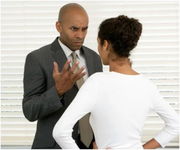 I am innocent! Husband pleads with wife after finding a woman in a miniskirt in his car