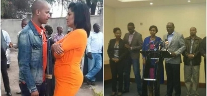 Babu Owino moves suggestively closer to Esther Passaris as Chiloba gets tight with female commissioner