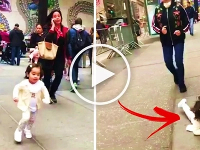 Watch Scarlet Snow suffer a shocking accident while running with Vicki Belo on the sidewalk! That was so heartbreaking!