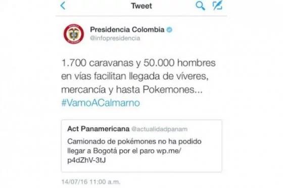 Presidencia responde tweet de Actualidad Panamericana