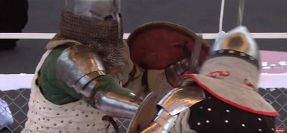 Knight Duels Are A New Popular Sport And They're Extremely Brutal!