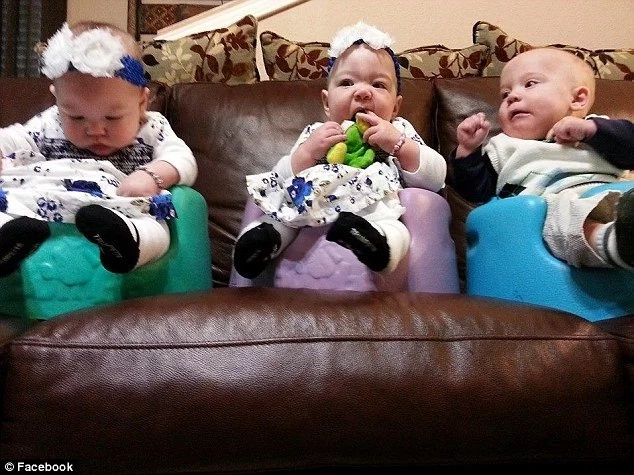 Woman finds out she's pregnant with twins one week after adopting triplets