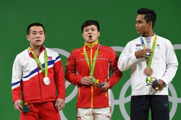 Thai Olympic medalist loses grandmother while celebrating