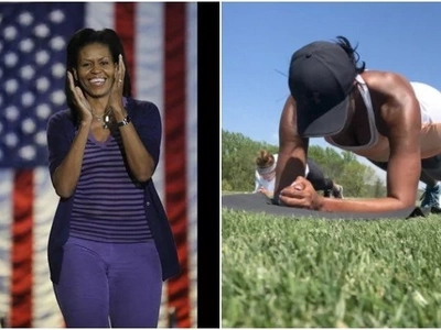 Barrack Obama's Wife shares the secrets of her amazing body shape