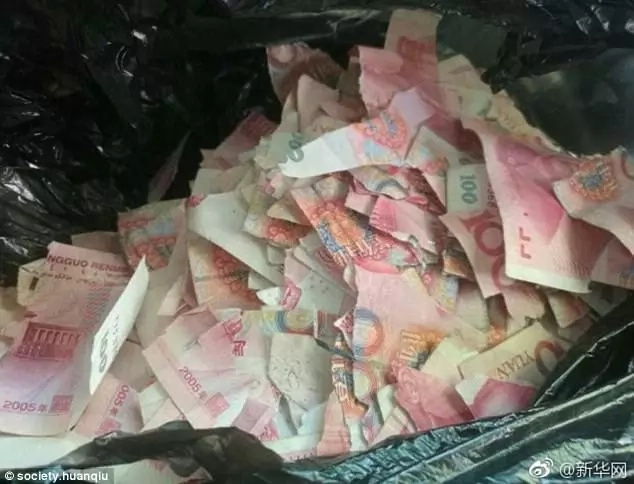 Toddler, 5, who was left alone at home by parents, shreds into tiny pieces banknotes worth Ksh738,310 (photos)