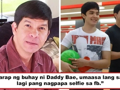 Kulang nlang sabihin palamunin siya! Netizen accuses Alden Richards' father as 'umaasa lang sa anak' and Daddy Bae reacts