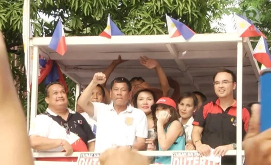 NPC Cainta Mayor endorses Duterte of PDP-Laban