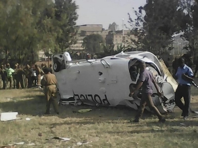 Viral Video that captured how NYS recruits heroically rescued police officers from accident chopper