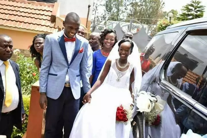 KSh 100 wedding couple not going for Dubai HONEYMOON after KSh 3.5 grand wedding