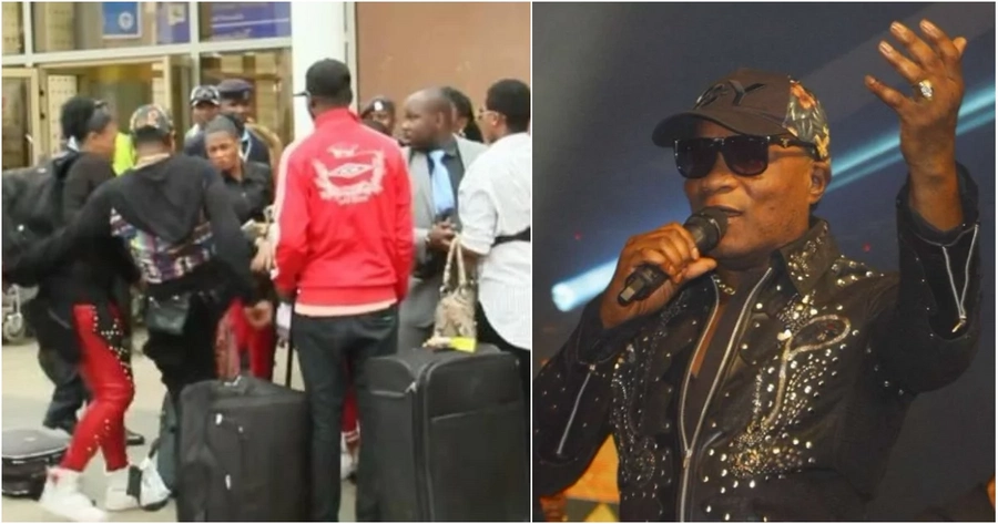 Congolese singer Koffi Olomide's last visit to Kenya did not end well after he allegedly assaulted one of his female dancers upon landing in the country.