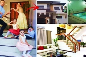 Pang-Royal family ang dating: Doug Kramer & Chesca Garcia's luxurious 3-story house is a sight to behold! Must-see!