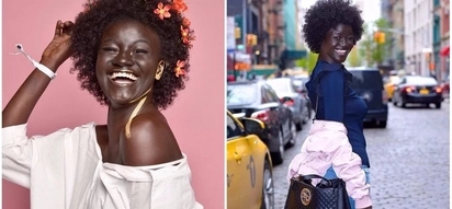Successful model reveals how she grew up being pressured to lighten her skin
