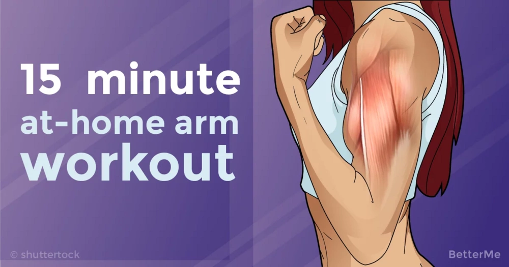 15-minute at-home arm workout