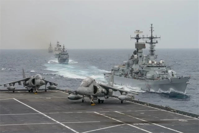 China, Russia conducts joint military exercises