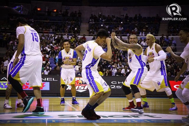 PBA All Stars entertains crowd with their amazing dance moves