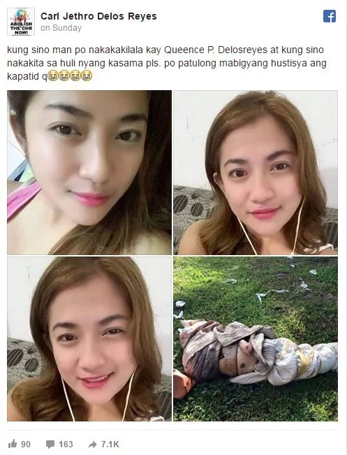 Quencee Delos Reyes raped, murdered at suspect's house