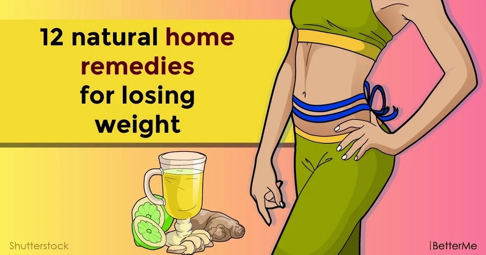 12 effective home remedies to lose weight