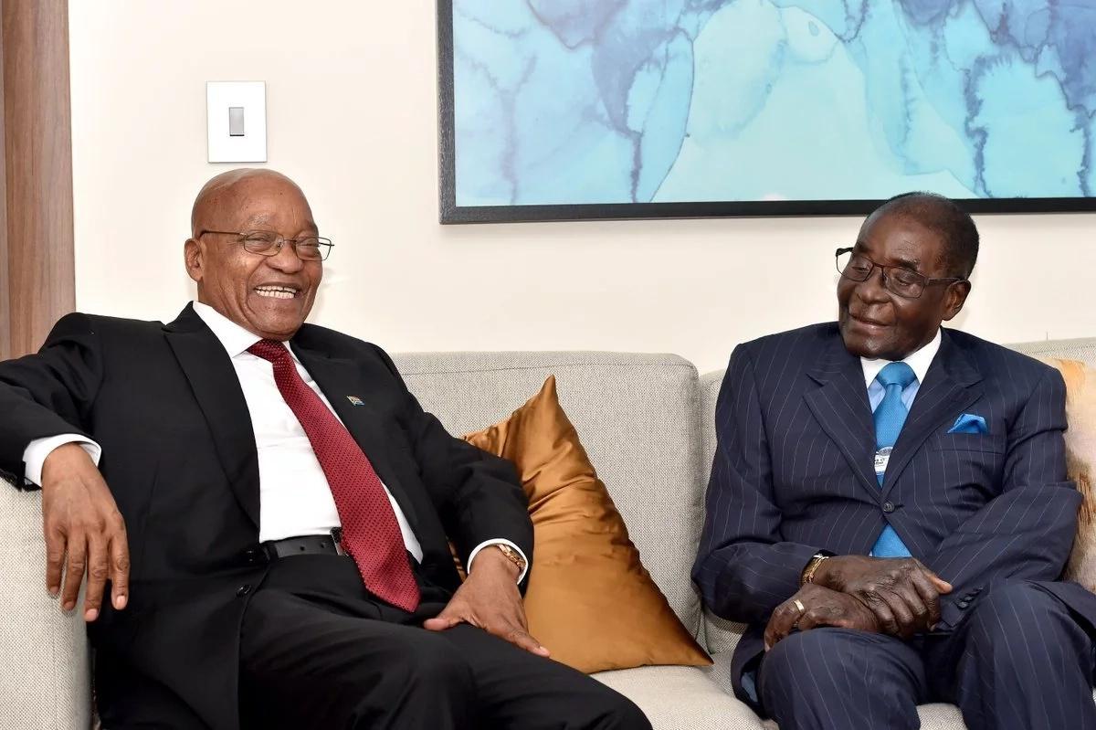Zuma delays trip to Zimbabwe after Mugabe's resignation