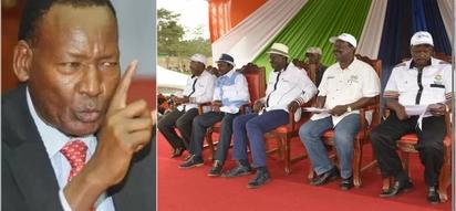 Mbunge wa Jubilee avamia waziri wa usalama baada ya kukashifu kampeni ya muungano wa NASA