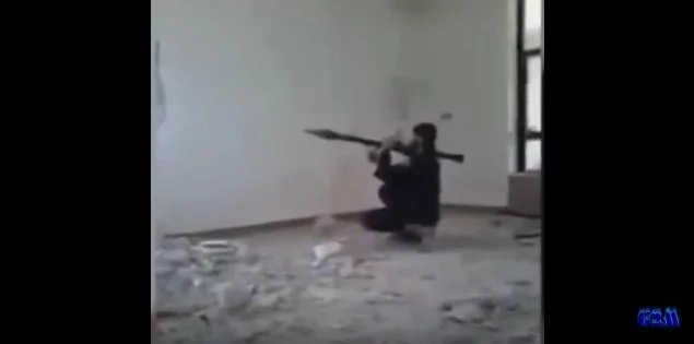 ISIS Member Blows Himself With His Own Rocket Launcher (Video)