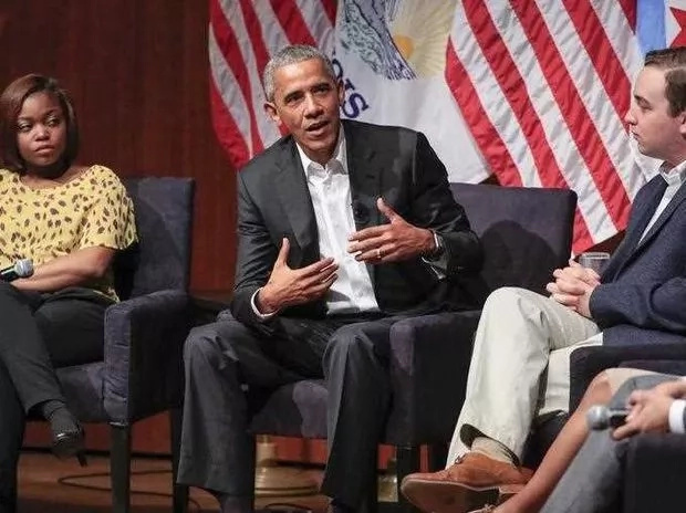 Obama said his focus now is to help prepare the next generation of American leaders