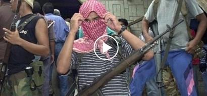 [WATCH] Abu Sayyaf captives beg Duterte for help