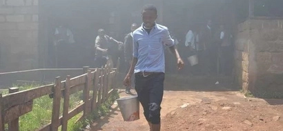 Nyahururu Boys High School set on fire in broad daylight