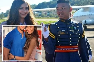 New heartbroken photo of Miss Universe and her 'cadet' went viral