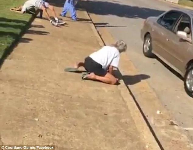 Esposos drogados perdieron la conciencia en la calle