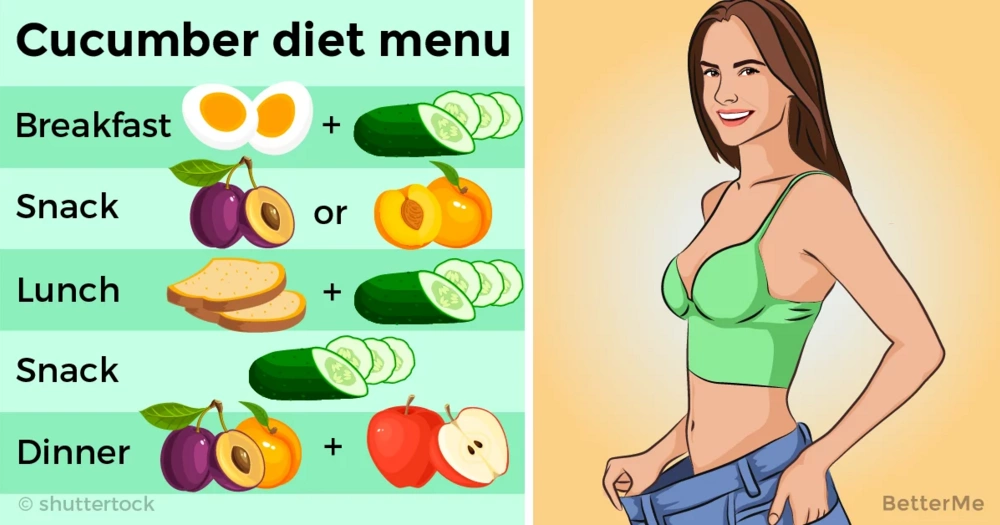 This cucumber diet can help you lose up to 5 pounds in 2 weeks