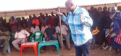 Video of the late Senator Boy Juma Boy showing how he disliked Uhuru Kenyatta and Jubilee