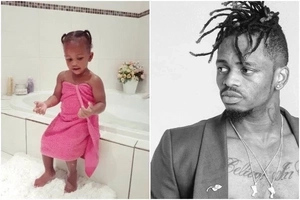 12 Cute photos of Diamond Platnumz's daughter Tiffah that prove she is her father's carbon-copy