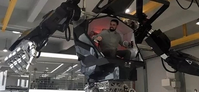 4 Meter Tall Working Robot Built In South Korea Is A Sci Fi Movie Come To Life