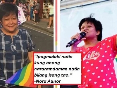 Nora Aunor umattend at sumoporta sa 2017 Pride March! Ang dahilan? Alamin!