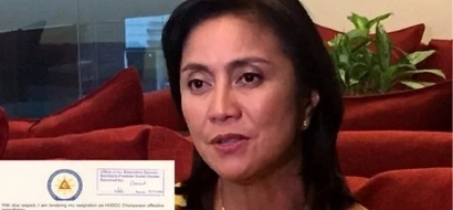 It's confirmed! Leni Robredo's resignation letter reaches the Palace