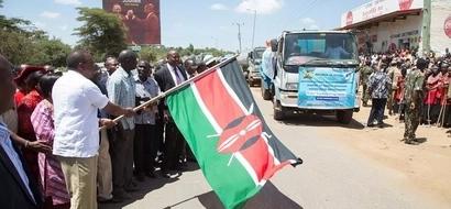 President Uhuru gifts Kitui residents with water trucks, Kenyans erupt
