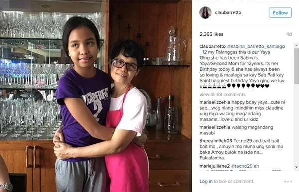 Claudine Barretto has one message to her daughter's basher