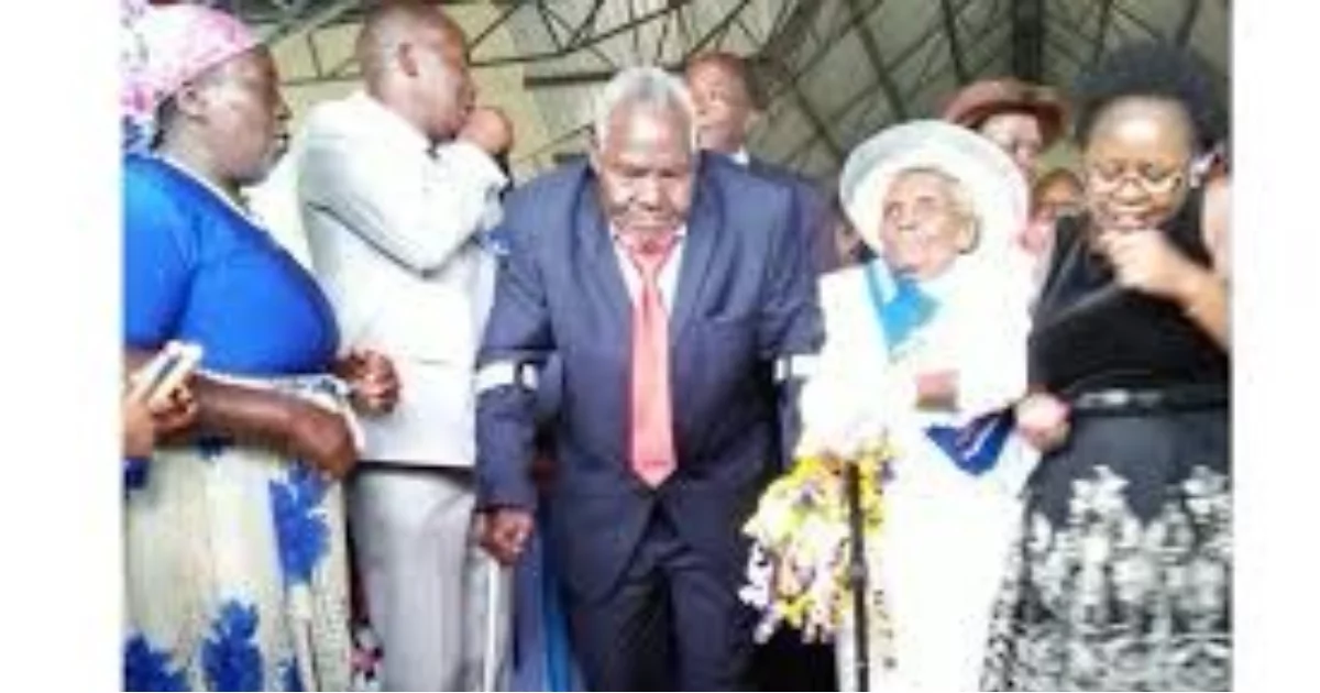 Nyeri couple who have been married for 63 years exchange vows in pompous wedding ceremony