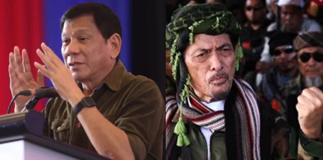 Duterte meets rebels, says talks with Abu Sayyaf 'out of picture'
