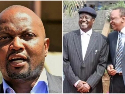 Chances of Raila working with Uhuru before 2022 are so high - Moses Kuria