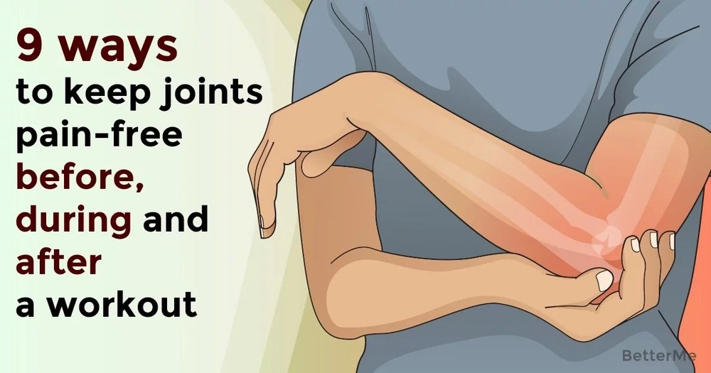 9 ways to keep joints pain-free before, during and after a workout