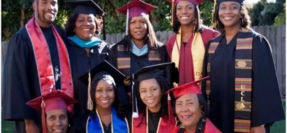 Family goals! This photo of 3 generations of college graduates will INSPIRE you (photo)
