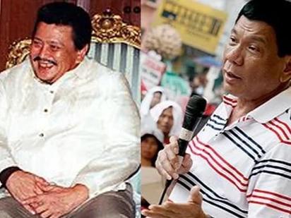 Estrada hopes for a better Duterte in the presidency