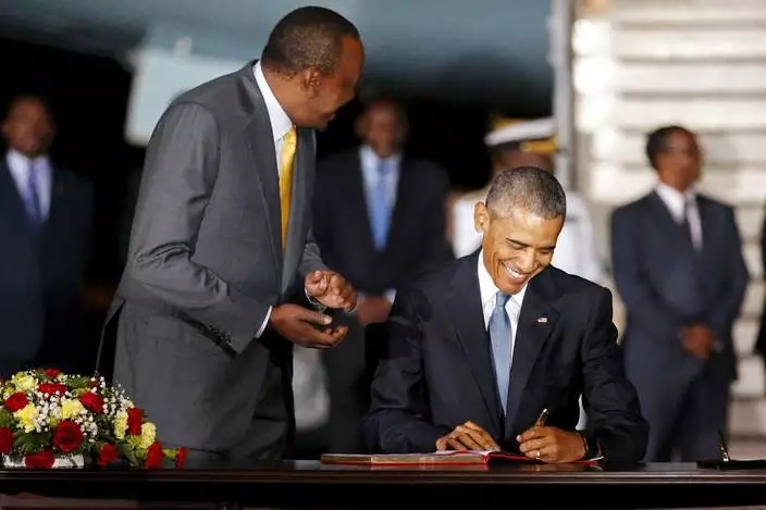 10 historic visitors that Obama inspired to visit Kenya